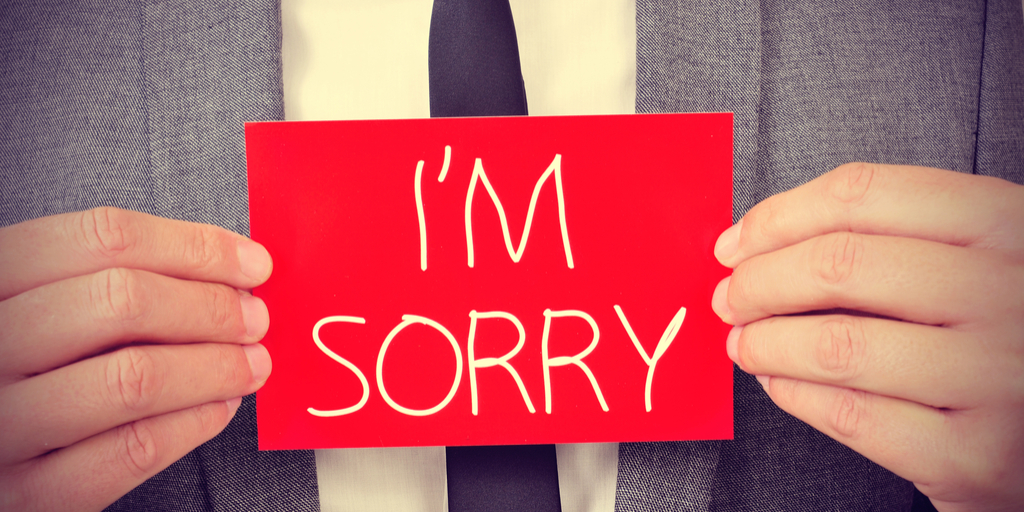 To Apologize or Not To Apologize