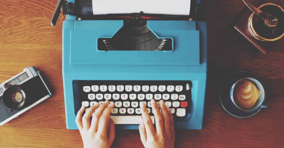 type-writer-facebook