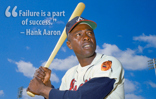 Baseballs Life Lesson The Road To Success Is Paved With Failures
