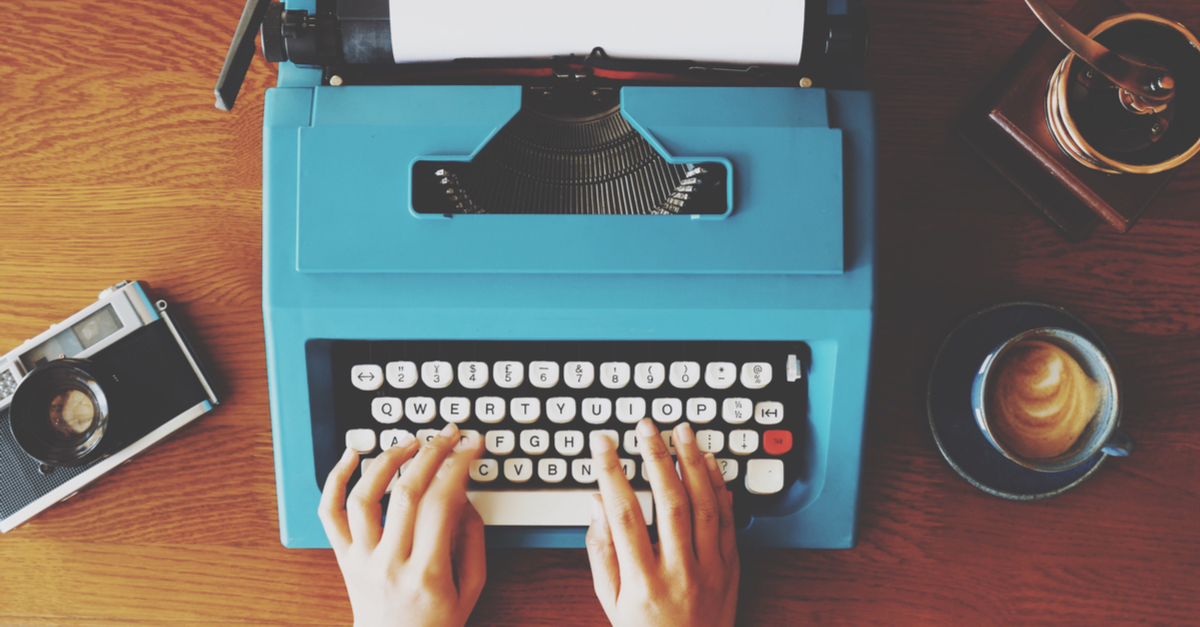type-writer-facebook